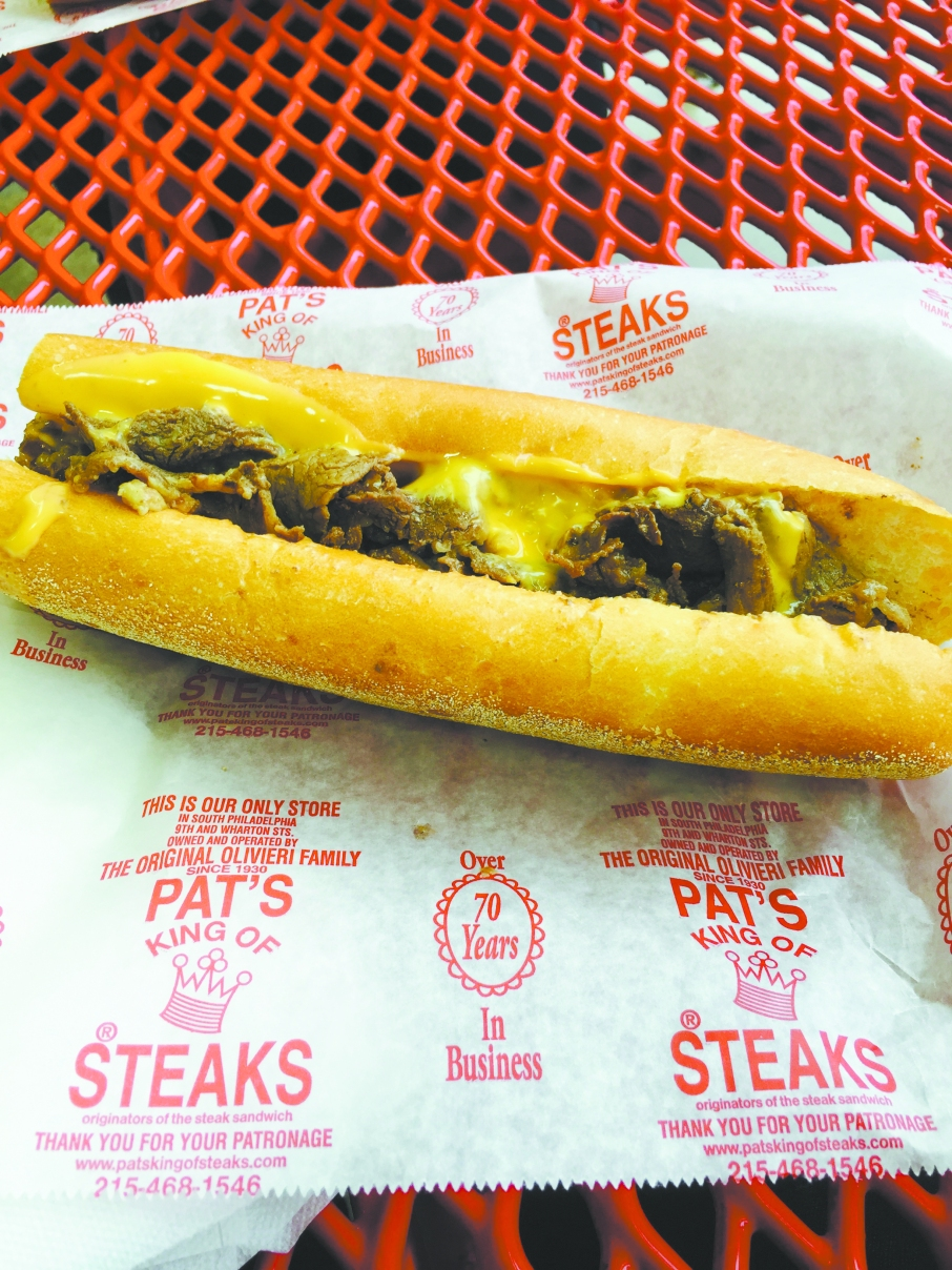 Pat's Great Steaks in Philadelphia, Pa.